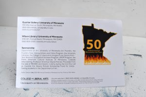 50th iron pour invite